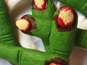 Dedos bruja (Galletas especial Halloween)
