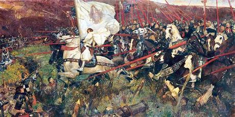 Juana de Arco en batalla