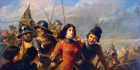 Juana de Arco apresada