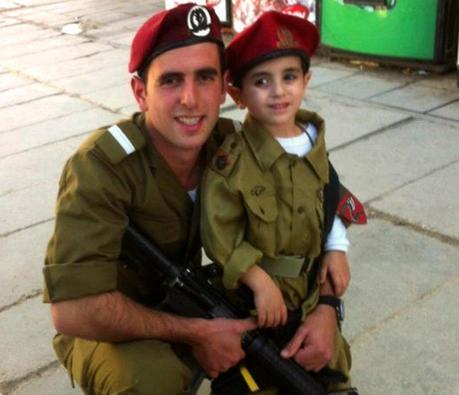 Los soldados de las FDI son padres ....