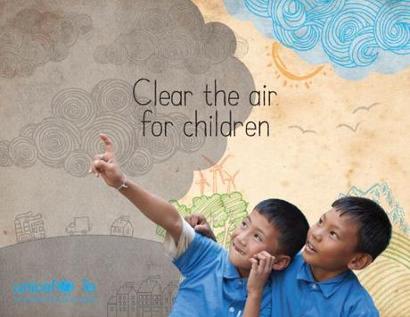 Informe UNICEF: Clear the air for children