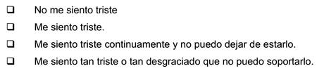 DEPRESION INVENTARIO BECK PDF