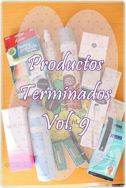 #Productos Terminados# ~Vol. 9~