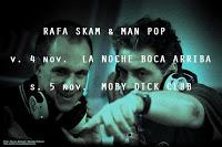 Dj sets de Rafa Skam y Man pop en Madrid