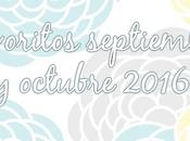 Favoritos septiembre octubre 2016
