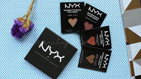 NYX | Sombras de Ojos | Hot Singles y Nude Matte