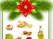 """ingredientes """"estrella"""" para Navidad sana."""