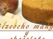 Bizcocho casero chocolate mango