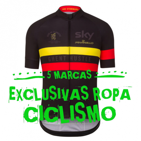 Top 5 marcas de ropa exclusivas de ciclismo