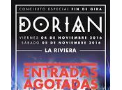 Dorian, doble Sold Madrid siguen tour
