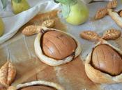 Peras Hojaldre Crema Cacao