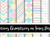 Motivos Geométricos Tonos Pastel para Personal Comercial