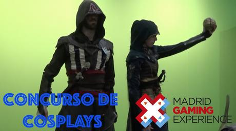 VÍDEO: Concurso de Cosplays en Madrid Gaming Experience