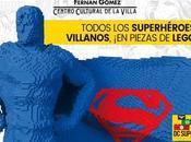 BRICK: SUPER HEROES universo Super Heroes piezas LEGO desembarcan Madrid.