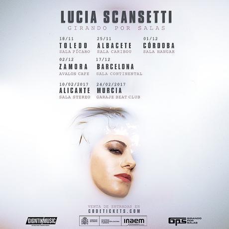 Gira Lucia Scansetti Girando por salas