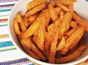 Chips boniato horneados