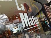 mafia sienta mesa, comida italiana para celíacos