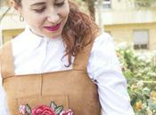 Pichi Flores Pinafore with Flowers
