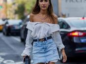 falda jean vuelve moda!