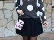 Kawaii milk polka dots sweater
