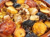 Arroz valenciano horno toque