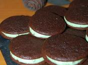 Whoopies chocolate verde