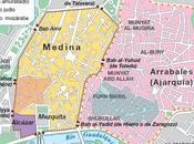 plano ciudades medievales islamicas península ibérica