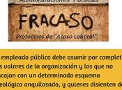 """causas fracaso """"Protocolos Acoso Laboral"""" Administración Pública"""