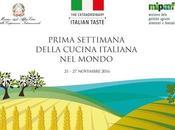 Semana Cocina Italiana Mundo, primera edición 21-27 noviembre 2016