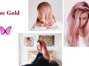 Tendencia rosa gold
