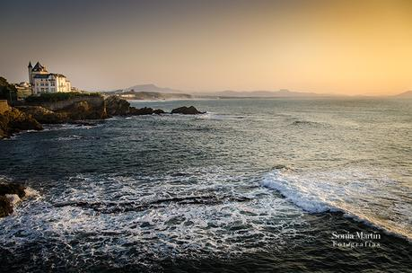 Frases fotográficas II. Biarritz