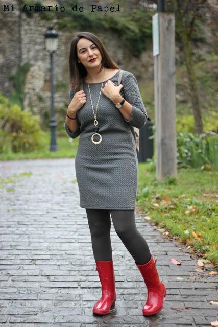 Outfit Ideas Para Vestir Botas De Agua Con Vestido Paperblog
