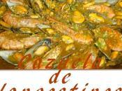 Cazuela mejillones langostinos