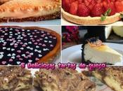 deliciosas tartas queso