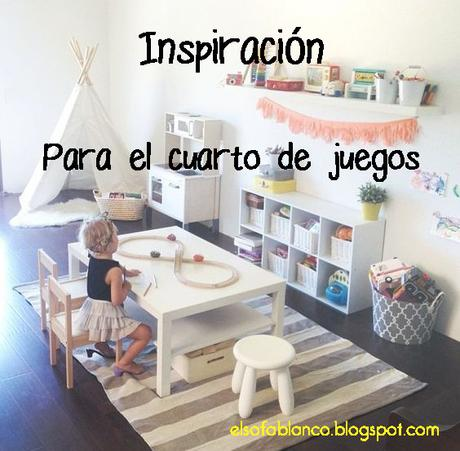 Inspiración - Cuarto de Juegos - Paperblog