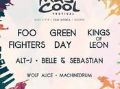 Cool Festival 2017: Kings Leon, Alt-J, Belle Sebastian, Wolf Alice, Machinedrum...