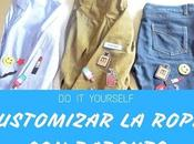 Video: Customizar ropa parches