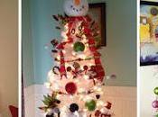 Ideas para decorar árboles navideños blancos