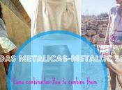 Cómo Combinar faldas Metálicas-How combine Metallic Skirts