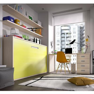 Camas abatibles en dormitorios infantiles paperblog - Camas dormitorios infantiles ...