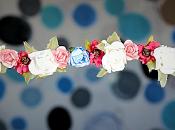 Como hacer coronas flores