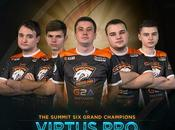Virtus campeones Summit
