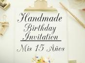 Invitación Años Shabby Chic Sweet Birthday Invitation.