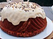 Bundt cake chocolate crema pastelera