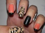 Diseño uñas animal print