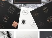 compras Creative Market: logos elegantes minimalistas