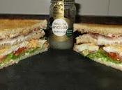 Sándwich anchoas queso