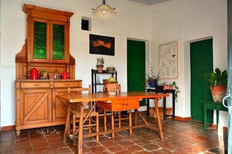 Comedor decorado con muebles antiguos - Paperblog