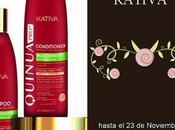 """Ganadora Sorteo lote productos gama """"Quinua Pro+"""" KATIVA"""