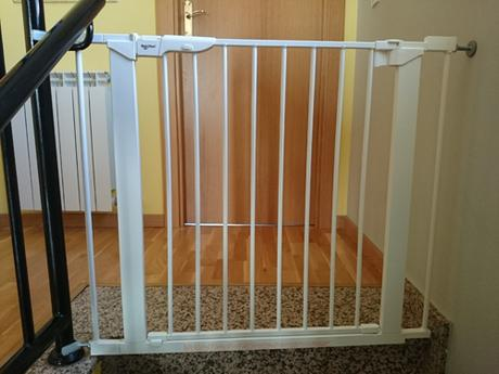 Prepara tu casa para tus hijos 9 tips de seguridad - Barrera escalera ninos ...